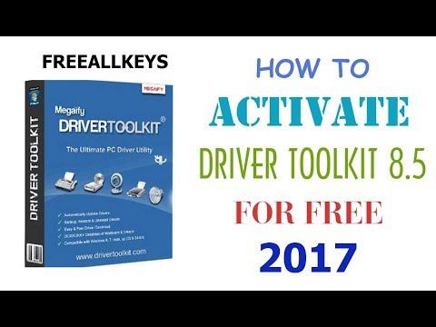 Driver Toolkit 8.5 Crack Serial Keys 2017 100% Working Lifetime