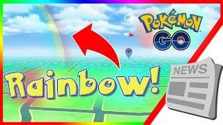 NEW ALOLAN RAINBOW SPOTTED IN POKEMON GO! Pokemon GO Alola Region Weather Update APK Version 0.105.0