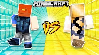 ZŁOTO VS DIAMENTY - WYŚCIG MINECRAFT PARKOUR! | VITO VS BELLA