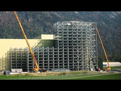 Enstehung Des Höchsten Hochregallagers Der Schweiz