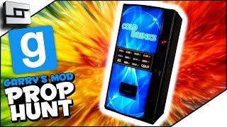 SECRET SODA MACHINE! (Gmod Prop Hunt Funny Moments)