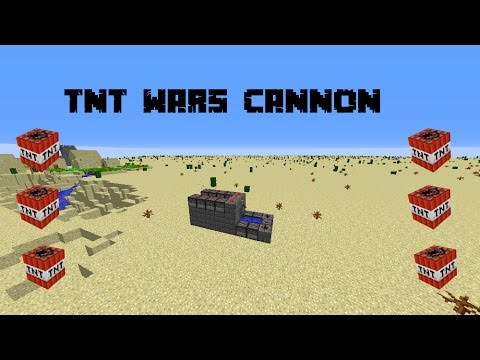 Build Destructive Cannon Minecraft