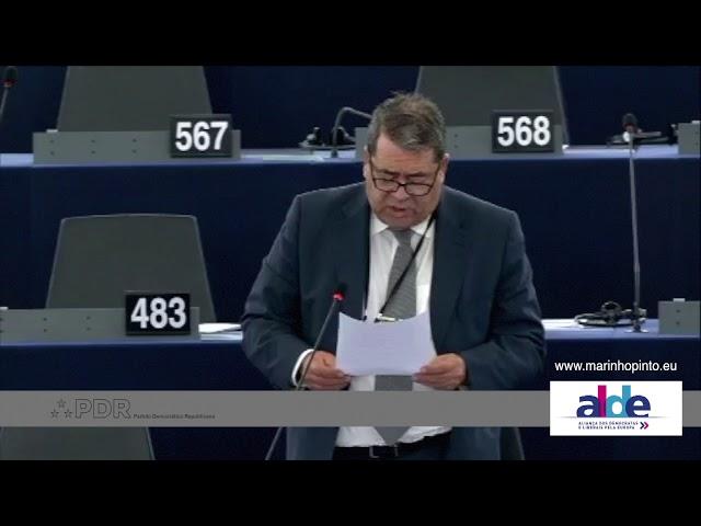 António Marinho e Pinto 11 Sep 2018 plenary