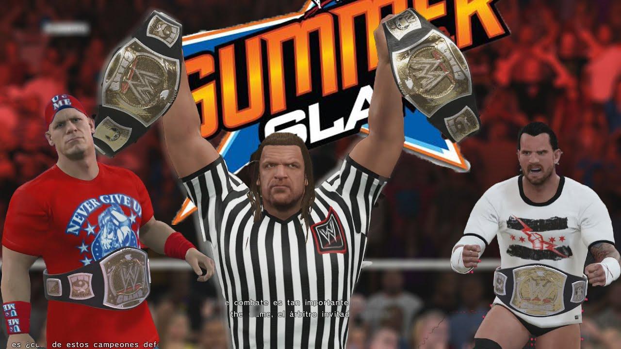 WWE 2k15 bakgrund matchmaking off