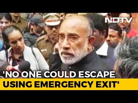 Emergency Exits Were Shut At Delhi Hotel Where Fire Killed 17: Minister KJ Alphons