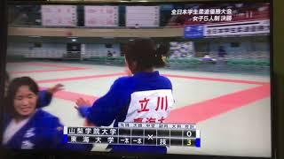JAPAN柔道(東海大学女子)2019年JUDO