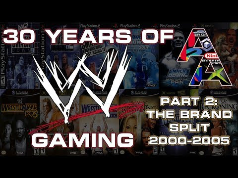 30 Years Of WWE Gaming Part #2: The Brand Split! [2000-2005]|Armbar Arcade