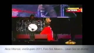 """Alicia Villarreal, """"la Jefa"""" en vivo, vive grupero..."""