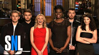 Leslie Wants a Selfie w/ Elizabeth Banks, Disclosure, Sam Smith & Lorde - SNL