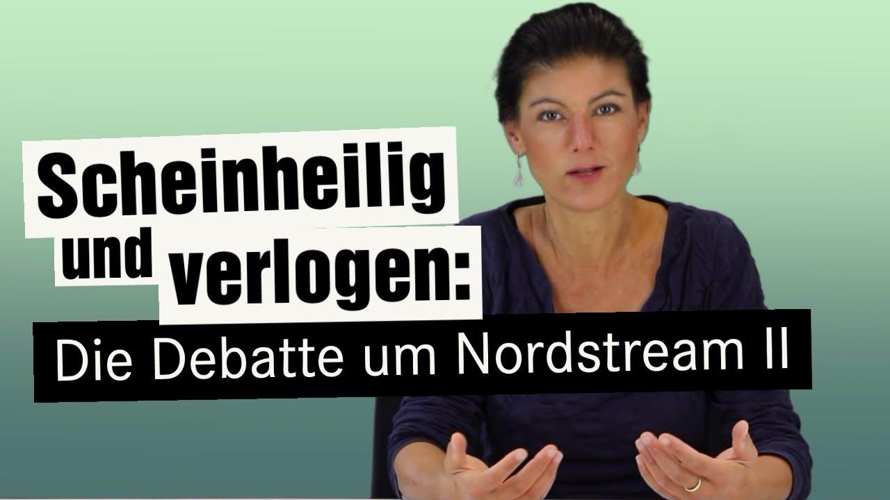 Scheinheilig und verlogen: Die Debatte um Nord Stream 2 | Bessere Zeiten – Wagenknechts Wochenschau
