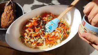 Влог 26 января. Запеканка из макаронов и Рыба  в томатах