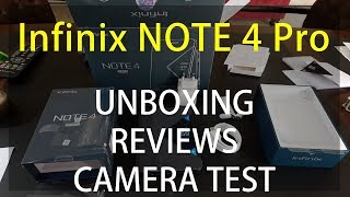Infinix Note 4 Pro Unboxing and Reviews