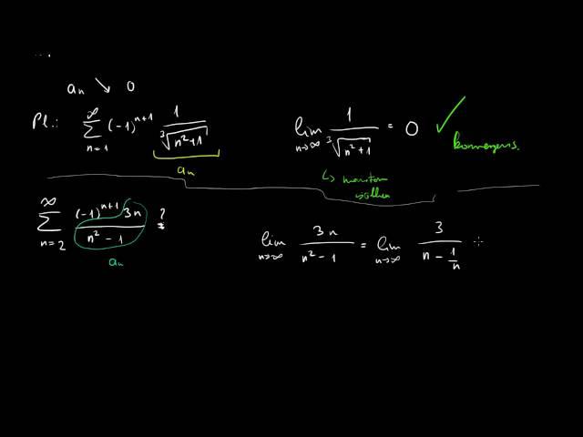 Leibniz-típusú (alternáló) sorok