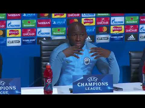 PreMATCH Press Conference of Manchester City(UEFA League)