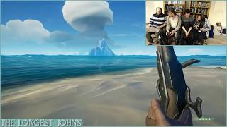 The Longest Johns Play Sea of Thieves but the servers die and we sing anyway