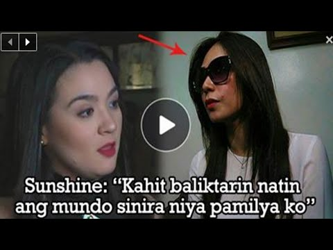 Sunshine Dizon finally met the mistress of her husband for the first time in court