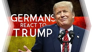 GERMANY Reacts to U.S. President DONALD TRUMP