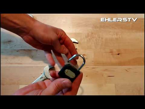 How to open a lock in seconds - Lifehack