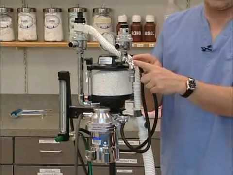 Set Up And Use Of The Anesthesia Machine Youtube