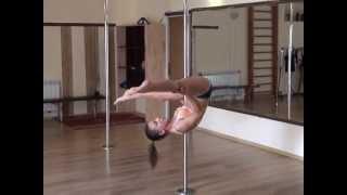 Pole dance. Уроки танцев. Элемент