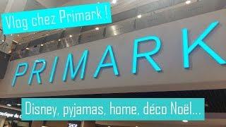 Vlog Primark : Déco Noël, pyjamas, Disney, Harry Potter...