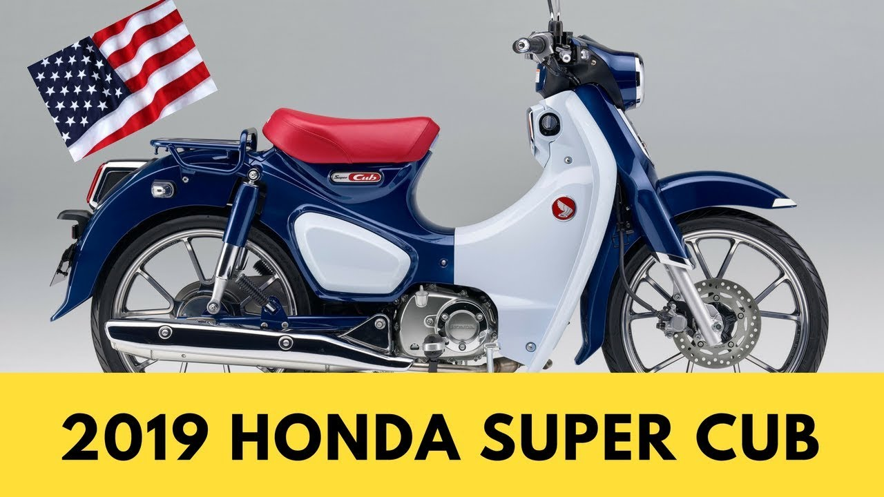 2019 honda super cub price and review youtube. Black Bedroom Furniture Sets. Home Design Ideas