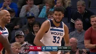New Orleans Pelicans vs Minnesota Timberwolves | November 14, 2018