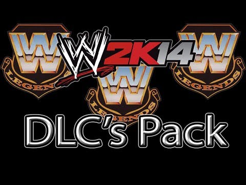 WWE 2K14 - DLC's Legend & Creation Pack + Virgil