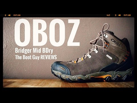 OBOZ Bridger Mid BDry Style No [ The Boot Guy Reviews ]