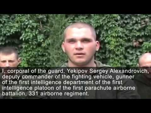 Pskov paratroopers in the Donbass