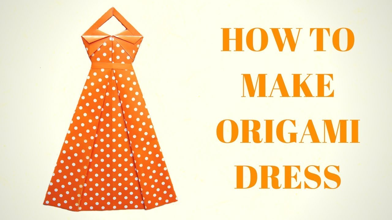 How to make an Origami Dress easy - Red Ted Art - Make crafting ... | 720x1280