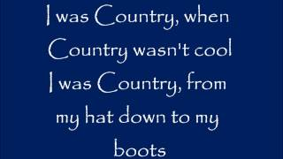 I Was Country When Country Wasn't Cool - Lyrics - Barbara Mandrell