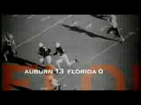 Auburn 1957 National Champions Salute