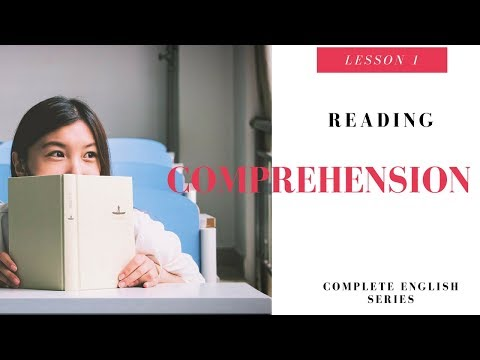 Complete English Lesson 1 Reading Comprehension