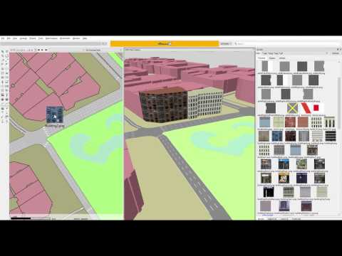 Build a 3D model from OpenStreetMap decoration