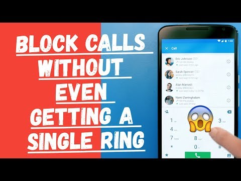 How To Block A Call From Particular Number Without Even Getting A Single Ring?