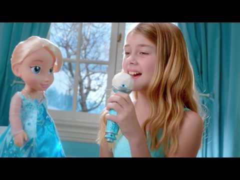 Disney Frozen - Sing a Long Elsa Doll -  Create the perfect duet! - JAKKS Pacific