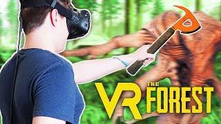 СИМУЛЯТОР ВЫЖИВАНИЯ В ВИРТУАЛЬНЫЙ РЕАЛЬНОСТИ! THE FOREST (HTC Vive VR)