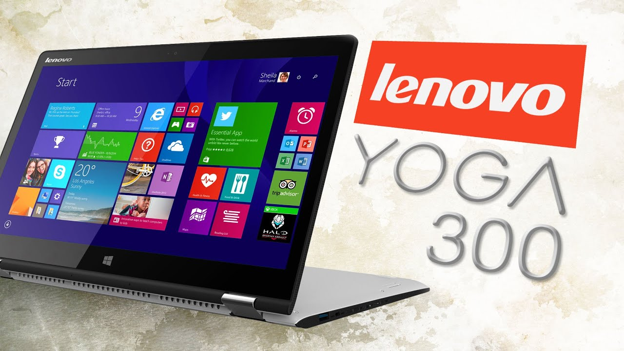 Review Lenovo Yoga 300 11 6 Convertible Laptop 2in1 116 Unboxing Hands On Affordable Portable