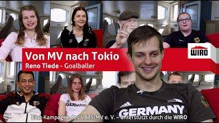 Von MV nach Tokio - Goalballer Reno Tiede
