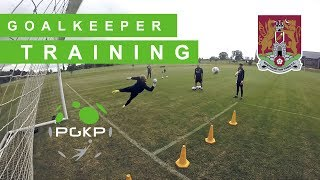 Goalkeeper Training Northampton FC | Fitness