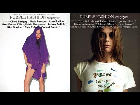 Purple Magazine with Olivier Zahm