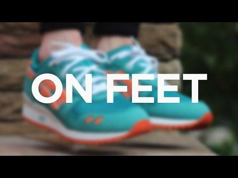 """on-feet:-ronnie-fieg-x-asics-gel-lyte-iii---""""miami-beach"""""""