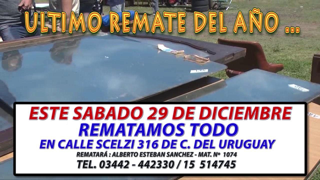 ULTIMO REMATE DEL AÑO ALBERTO ESTEBAN SANCHEZ SABADO 29 DE DICIEMBRE 2018 4b32e109f23eb