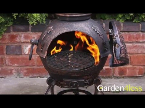 How To Build A Cast Iron Chiminea