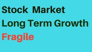 🔴Long Term Growth in Stock Market Fragile S&P 500 Transports Consumer Discretionary Weak