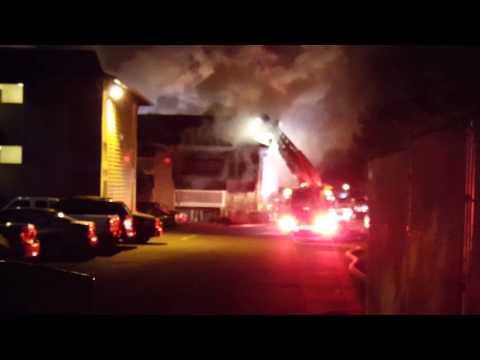 Everett Washington apartment fire