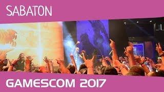 Sabaton on gamescom 2017