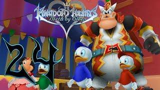 Kingdom Hearts Birth By Sleep Gameplay Walkthrough Part 24 Disney Town (Let