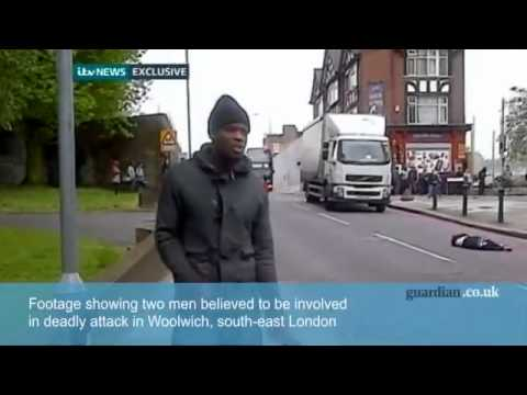 Michael Adebolajo - Impromptu Interview After Hacking a UK Solider to Death